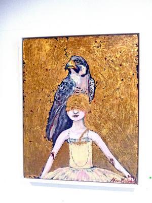Malmborgs inspireras av allt från australiensisk prickmåleri till konstnären Gustav Klint.