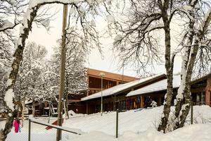 Skolan i Bruksvallarna där även förskolebarnen går.