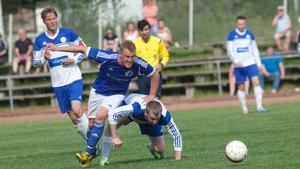 Oscar Karlsson stod för två mål mot Västerfärnebo.
