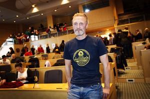 Fredrik Westins son Olle har gett honom tillåtelsen att prata om hans diagnoser,