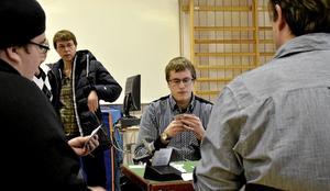 Oslagbart. – Sedan jag började med bridge blev allt annat kortspel tråkigt, säger Johan Karlsson, Hällefors. Foto: Michael Landberg