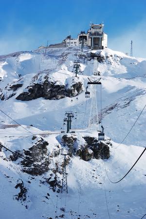 Cervinia är en känd skidort i Aostadalen. Några andra är Champoluc, Gressoney och Courmayeur.   Foto: Roberto Caucino/Shutterstock.com