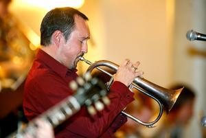 Peter Asplund, trumpetare kommer till Jazzklubben på Kulturcentrum Sandviken.