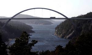 Svinesundsbron förbinder Sverige med Norge.Foto: Adam Ihse/Scanpix
