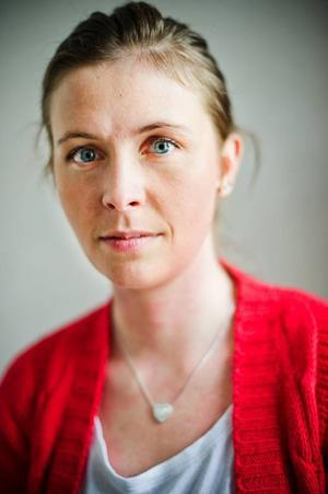 Olivia Östman, teamchef på nyöppnade HVB-hemmet Strandvillan.