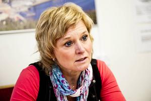 Anna-Belle Strömberg, ordförande i omsorgsnämnden som får ett statligt tillskott på 13 miljoner.