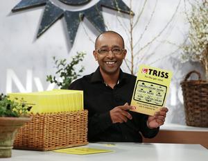 David Faller från Hudiksvall vann 3 miljoner kronor på Triss.