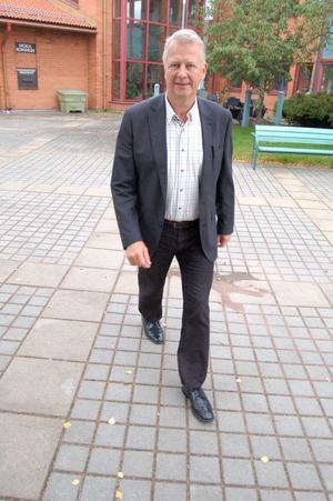Moras nye kommundirektör Peter Karlsson presenterades på måndagen.