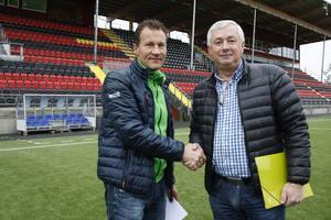 Peter Andersson har tackat ja till att återvända till Östersunds DFF.   Arkivbild