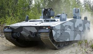BAE Systems Hägglunds kan glädja sig åt en stor order från det norska försvaret.Foto: Per Ögren/Media-Bild/Arkiv