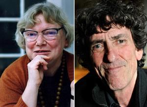Två poeter som nämns av vår lyrikkrönikör Kristian Lundberg: Inger Christensen och Jacquez Werup. Foto: TT