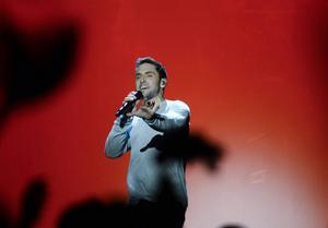 Måns Zelmerlöw får representera Sverige i Eurovision Song Contest.   Foto: MAJA SUSLIN / TT