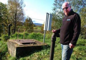Ragunda kommuns VA-chef Lennart Bergvall, kunde på måndag åter förklara Gevågs kommunala kranvatten som smittfritt. Foto: Ingvar Ericsson
