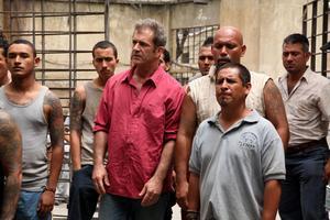 Mel Gibson hamnar i mexikanskt fängelse. Där dyker också Peter Stormare upp som gangster.
