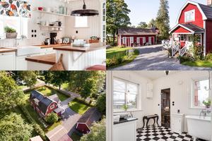 På Staffans väg i Hytting ligger det här renoverade huset från 1923 med fyra rum.