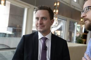 Tomas Tobé, moderaternas partisekreterare