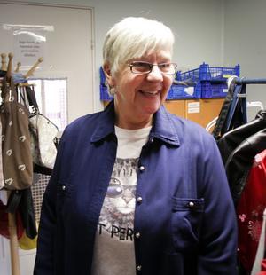 Gun Britt Aronsson gladde sig över att så många gäster kom på Öppet hus.