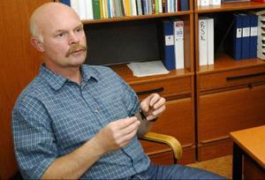 Håkan Andersson är polischef i Härjedalen. Han önskar att de hade mer tid att vara ute och hade större bemanning.Foto: Henrik Flygare