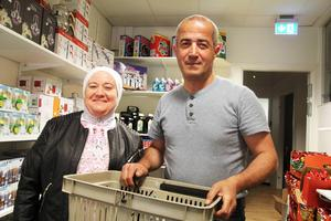 Kunderna Amal Zakaria och Mohamed Annous har saknat en sådan här butik.