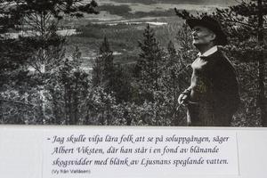 Albert Viksten var en stor naturälskare.