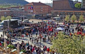 Invigningen av Saepmi Welcomes blev välbesökt, den samiska kulturfestivalen fortsätter nu hela veckan.