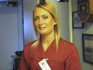 – Vi tar oss tid att prata med kunderna och det tror jag är uppskattat, säger Alexandra Jansson, undersköterska vid Maid hemtjänst i Gävle.
