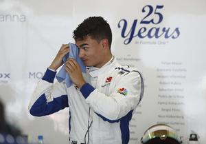 Marcus Ericssons teamkompis Pascal Wehrlein snurrade av på sista varvet av första kvalomgången, vilket ställde till det för Ericsson.