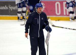 Jonas Levén, målvaktstränare i Leksands IF.