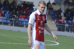Lagkapten Olof Mård var tillbaka efter sin avstängning. Foto: Ossian Mathiasson