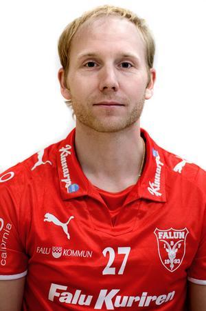 Ljusdalssonen Erik Hasselberg är en av fem spelare på listan på dragit på sig IBF Faluns tröja.