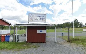 Hit flyttades Alby IP under tiden Lars Lagerbäck var aktiv i klubben.