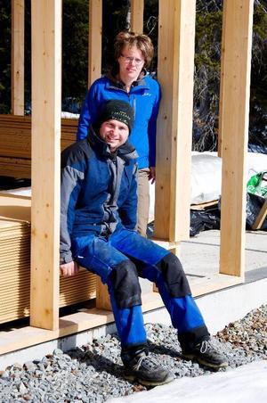 Miriam och Christoph Schenk fortsätter att utveckla anläggningen Galå fjällgård i Galåbodarna.