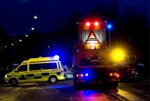 Polisen bedömer att gångtrafikanten avled omedelbart.