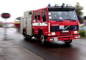 Larmen om brand i Örnsköldsvik visade sig vara ett falsklarm.