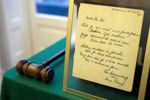 En dikt skriven av Anne Frank, daterad till 28 mars 1942, i Amsterdam.