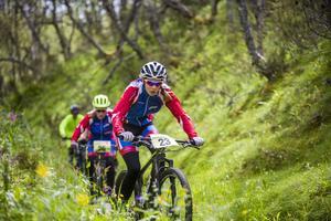 I klassen flickor 13-14 år, Nellie Svetsnoff, första placering och Sofia Jonsson med en andra placering från Funäsdalens IF gav allt ute i terrängen.