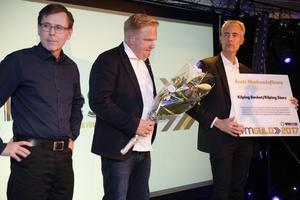 Köping Stars prisades under VM-festen 2017.