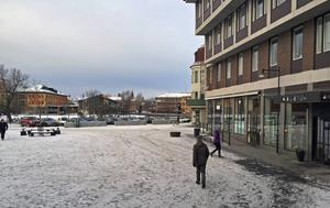 Fisktorget i Falun. Foto: Anders Norin/Arkiv
