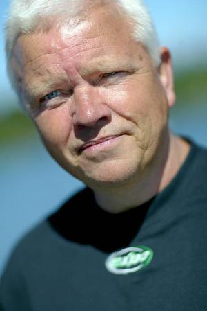 """Sten Lindqvist fortsätter producera actiondramer. """"Gamla spår – morden på Expo Norr"""" heter hans fjärde bok som kommer ut i dagarna.Foto: Robert Henriksson"""