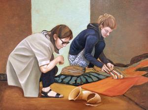 Figurativt måleri visas i Galleri Boken under mars.