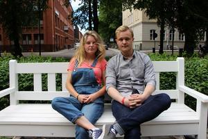 Jessica Bohlin och Rasmus Gozzi drar i gång sitt samarbete med låten