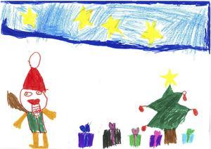 Tess Wessling, 7 år, Härnösand.
