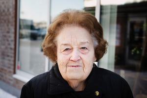 Vilken typ av butik är viktigast för centrum?Britt Larsson, 86, pensionär, Nykvarn.– Mataffären är bra – den vill jag gärna ha kvar. Det vore bra med en butik med lite småplock, tråd måste man till exempel till Södertälje för att köpa.