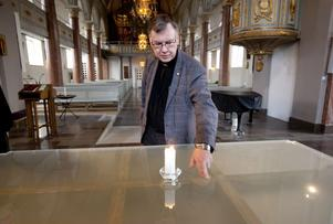 Tor Frylmark är nöjd med hur domkyrkan byggts om.