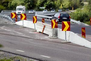 E4-trafikanterna får se upp lite extra denna månad, då trafiken leds om.