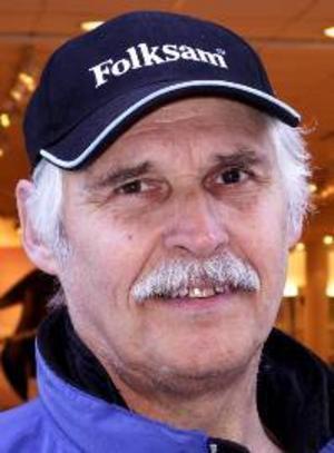 Kalle Sundberg, 65 år, Fannbyn:– Ja, jag såg på tv när Hans Olsson blev trea i störtlopp. Jag ska nog se resten också. Man ser bättre på tv än i verkligheten.