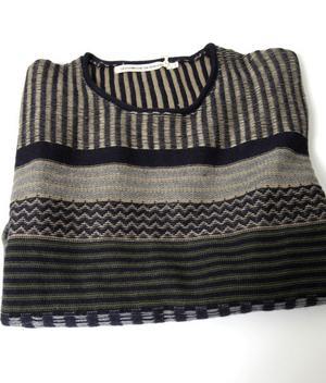 Blågrön mönstrad tröja1 400 kronor från Blå.