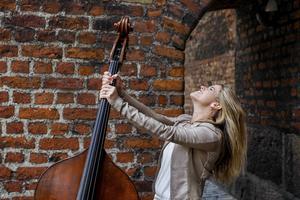 Kristin Korb spelar på Bangen i år.