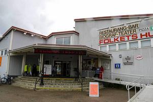 23 juni 2015. Tunga moln över Folket Hus föreningen i Sveg som begärde sig själv i konkurs.