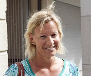 Birgitta Juhlin, 43– Jaså har de gripit en person. Nej, jag tror inte de löser fallet. Vad negativ jag låter. Men det hände ju för så länge sen, mer än fyra år sen.